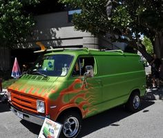 Just a Car Guy: 1974 Dodge van, still carries on the 70's van fad with it's original owner