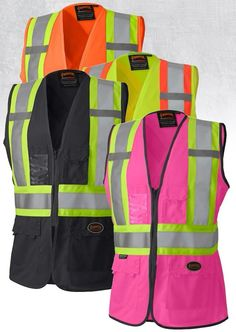 Safety Clothing Objective Spardwear En471 High Visibility Security Vest Reflective Safety Mesh Vest Reflective Clothing Safety Clothing Free Shipping Comfortable And Easy To Wear