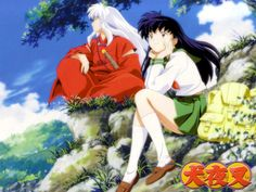 He's my InuYasha. <3 Hopefully, I'm not as dim as Kagome.