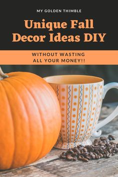 The best Fall Decor Ideas DIY to fill the outside or inside and even the front porch of your home. These decorating ideas are super easy too! You will find all sorts of DIY ideas from mason jars to centerpieces, table decorations, and of course all sorts of pumpkin crafts! Are you ready? Click and see them all! Pumpkin Crafts, Paper Pumpkin, Fall Crafts, Decor Crafts, Crafts To Make, Fall Sewing, Fall Pillows, Good Tutorials, Dollar Tree Store