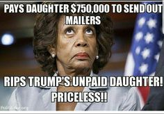 Maxine Waters is to blind to see it but this is: Hypocrisy at it's finest!