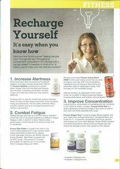 Forever Living Aloe Vera, Forever Living Business, Forever Life, Cleanse Program, Nutritional Cleansing, Forever Living Products, When You Know, Nutrition Guide, Medical Conditions