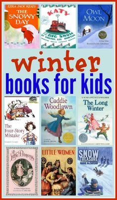 20 good winter books for kids - a perfect collection of picture books and chapter books for kids of all ages.