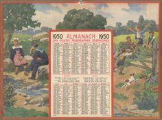 Almanach des Postes 1950