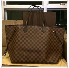 Louis Vuitton Handbags Neverfull - So cheap just $232.99.I like it Soooooo much #Louis #Vuitton #Neverfull #Bags #lv #Fashion