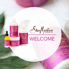 Shea Moisture samples available on PINCHme.com
