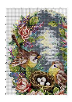 Фотографии на стене сообщества | ВКонтакте Cross Stitch Cards, Cross Stitch Animals, Cross Stitch Flowers, Cross Stitching, Crewel Embroidery, Cross Stitch Embroidery, Embroidery Patterns, Funny Cross Stitch Patterns, Cross Stitch Kitchen