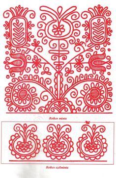 "Képtalálat a következőre: ""modern folk patterns"" Polish Embroidery, Hungarian Embroidery, Folk Embroidery, Cross Stitch Embroidery, Machine Embroidery, Border Embroidery Designs, Embroidery Patterns, Cross Stitch Boards, Principles Of Art"