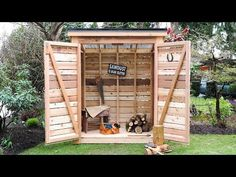 Hottest Free garden shed lean to Suggestions Lawn storage sheds possess numerous functions, such as putting domestic litter along with back garden routine . Suncast Storage Shed, Storage Shed Plans, Garden Shed Diy, Garden Storage Shed, Backyard Storage, Western Red Cedar Lumber, Diy Projects Plans, Backyard Projects, Pallet Projects
