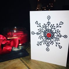 #christmas #christmascards #homemade #madebyme