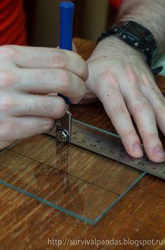Самодельные стеклянные бланки для заточных приспособлений типа Профиль, а также апексодиов