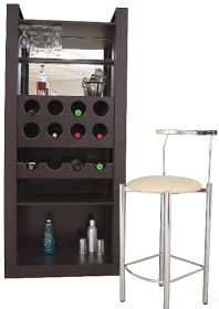Cantinas bares on pinterest wine hutch bar and home bars for Decoracion bares modernos