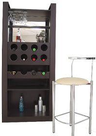 Decoración Minimalista y Contemporánea: Muebles modernos para bar - cantina en el hogar
