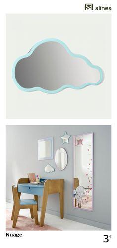 alinea nuage miroir en forme de nuage pour enfant enfant decoration chambre enfant decorations murales