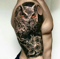 Image result for tattoo ideas owl