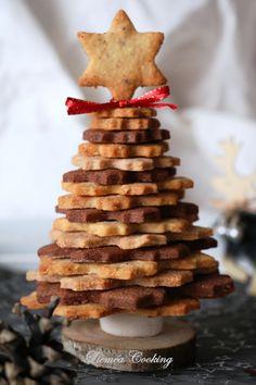 Sapin 3D de Noël sablé, vanille-noisette, cacao et cannelle - Lieméa Cooking Xmas, Christmas, Gingerbread Cookies, Cookie Cutters, Cacao, Food, Marketing, Deserts, Pastry Recipe
