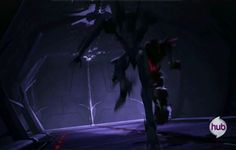 YAY! I LOVE THIS GIF!!<<<If I had to sum up Knockout and Starscream in one gif...