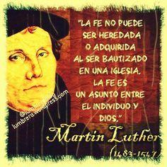 Araceli Rego, de lo humano a lo divino: MARTIN LUTERO Y LA REFORMA PROTESTANTE