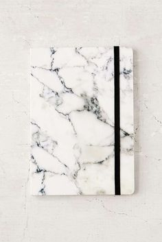 This marble notebook is all kinds of gorgeous. Not only would the planner be handy, but it would add all kinds of glam as a desk accessory. Perfect for any girlboss. Cute Notebooks, Journals, Back To School Supplies, Office Supplies, Marble Print, Lined Page, My New Room, White Marble, Planer