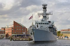 HMS Argyll arrived in Baltimore yesterday to join Americans in a week-long commemorative event to celebrate the birthday of the Star-Spangled Banner. During their time in Baltimore, Argyll's. British Armed Forces, Star Spangled Banner, National Anthem, Royal Navy, Baltimore, Statue Of Liberty, Activities, Stars, American