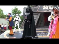 ▶ Dance-Off with the Star Wars Stars 2009 - Hyperspace Hoopla - YouTube-I was laughing like the entire time I love these!