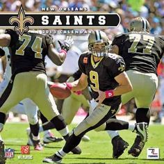 Perfect Timing - Turner 12 X 12 Inches 2013 New Orleans Saints Wall Calendar (8011287) by Perfect Timing - Turner. $9.88. Showcase the stars of your favorite team with this rousing team wall calendars. Player action and school photos with player bio information.