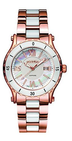 Roamer-Womens-AEU980-4923-PE-Quartz-Watch-with-Mother-Of-Pearl-Dial-Analogue-Display-and-Stainless-Steel-Bracelet