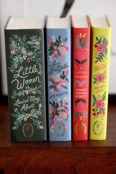 York Avenue: Anna Bond x Penguin Classics: The Puffin In Bloom Book Collection// Four books that came from back in time. I think they were written before I was born. Anna Bond, I Love Books, Books To Read, Book Club Books, Book Art, Bloom Book, Buch Design, Penguin Classics, Books For Teens