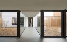 In 2010, we were asked as architects to renovate a typical Flemish postwar house into a spacious and open private residence. The challenge was to inverse the entire program, in a way that every function had the best orientation and enough privacy from ...