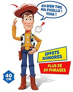 Mtw Toys - 64071 - Toy Story - Figurine Parlante Woody: Amazon.fr: Jeux et Jouets