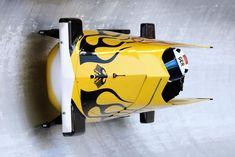 Previews - German bobsleigh athlete Stephanie Schneider training_1