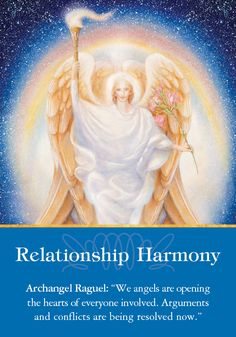 Oracle Card Relationship Harmony | Doreen Virtue | official Angel Therapy Web site