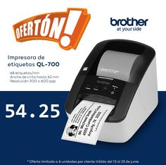 impresora de etiquetas, brother