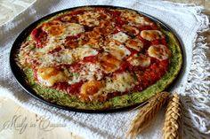 Pizza finta di zucchine
