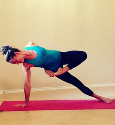 Side plank loris #yoga
