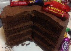 Donna Hay Chocolate Buttercream layered cake