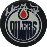 Wayne Gretzky Autographed Edmonton Oilers Puck