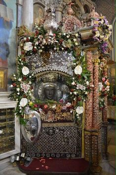 Michael Gabriel, Christmas Wreaths, Christmas Tree, Archangel Michael, Holy Family, Holy Spirit, Jesus Christ, Saints, Holiday Decor