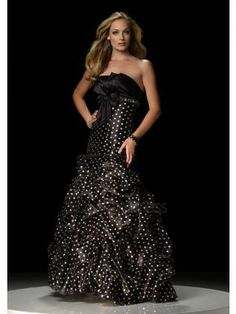 Strapless Floor Length Prom/Homecoming/Evening Dresses