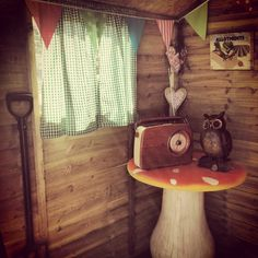 My mums allotment shed :)