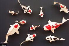 Dollar Bill Koi Fish Origami Instructions Dollar Bill Home Crafting. Dollar Bill Koi Fish Origami Instructions You Should Definitely Give A Carp About. Origami Ball, Origami Koi Fish, Origami Rose Box, Instruções Origami, Origami Artist, Money Origami, Origami Books, Basic Origami, Origami Instructions Easy
