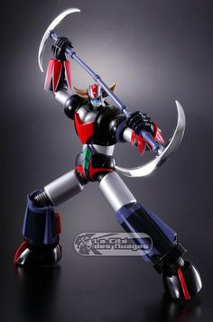 Super Robot Chogokin Goldorak Action Figurine 14cm Bandai Europe