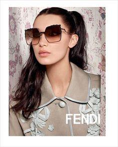 Bella & Gigi Hadid for Fendi Spring Summer 2017 Campaign