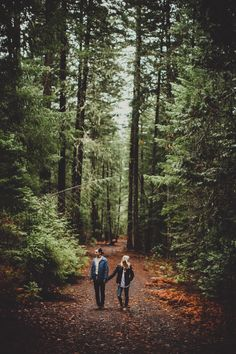 Learning to stay on the trail because there's nothing more special than the person beside you