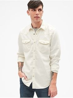 b9e644417c Denim Western Shirt Western Shirts