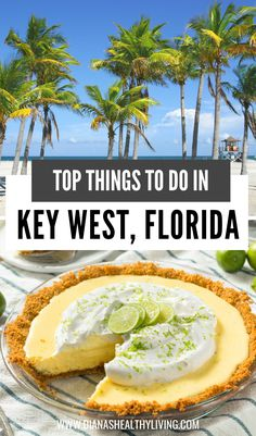 Are you heading to Key West, Florida? Here are the top things to do when visiting Key West. Don't forget to have some key lime pie. Key West Florida, Florida Keys, Orlando Florida, Florida Travel Guide, Visit Florida, Beach Trip, Beach Travel, Worldwide Travel, United States Travel