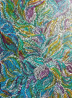 colourful aboriginal art - Google Search