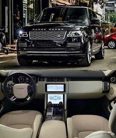 Luxury Sports Cars, Best Luxury Cars, Luxury Suv, Sport Cars, Range Rover Black, Range Rover Car, Pink Range Rovers, Jeep Wranglers, Range Rover Interior