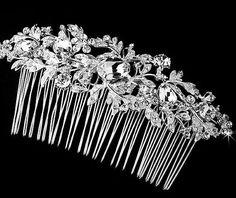 Ozdoby do vlasů | Hřebínky do vlasů | Hřebínek do vlasů RHINESTONE | magickemomenty.cz - hřebínky a ozdoby do vlasů, svatební bižuterie, šperky, náušnice, náhrdelníky, svatební a módní doplňky, manžetové knoflíky