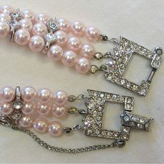 vintage and pearls.